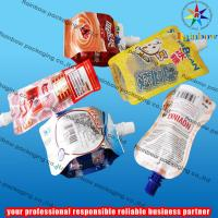 Wholesale Aluminum Foil Spout Pouch Packaging With Cap For Jelly from china suppliers