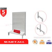 Wholesale Single Side Gondola Retail Display Shelving Racks With Welded Base Foot from china suppliers