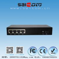 Brand new CE 25kms single mode 9ports Fast Ethernet Optical Switch 1*9 FX and 4*10/100/1000M RJ45 FE,Metal case
