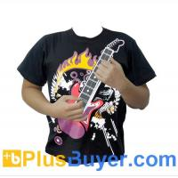 Wholesale Guitar Zero - Electric Rock Guitar T-Shirt - 12 Chords, Washable from china suppliers