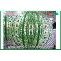 Wholesale Customized Giant Durable Inflatable Zorbing Ball For Hamster Ball Game 2.3x1.6m from china suppliers