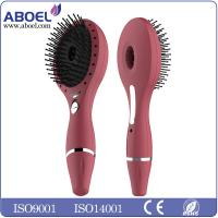 Wholesale Red Anion Salon Ionic Hair Comb Battery Operated With Laser Light from china suppliers