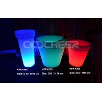 Wholesale Rechargeable Remote Control Led Flower Pot Room Corner Decoration from china suppliers