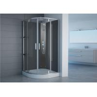 Wholesale Semi Frameless Free Standing Glass Shower Enclosures With Shower Tray Pivot Opening from china suppliers