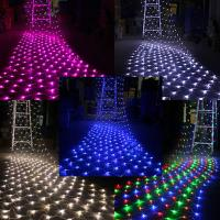 Buy cheap Top View 230v fairy christmas light net for garden from wholesalers