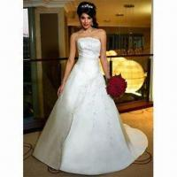 Wholesale Wedding Dress for Bride, Available in New Design and Various Colors from china suppliers