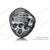 Wholesale 40W - 60W LED High Low Beam Headlights 12V DC 6500K For Victory Motocycle from china suppliers