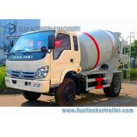 Wholesale Rhd Forland 3 Cbm Cement Mixer Truck Air Braking Euro 2 Emission Standard from china suppliers