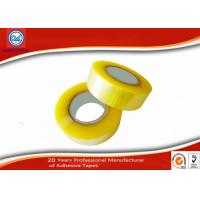 Wholesale Yellowish No Bubble BOPP Packaging Tape Transparent Cinta Adhesive from china suppliers
