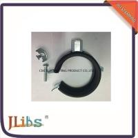 Quality M8 / M8+10 Nut Steel Galvanized Pipe Clamps With EPDM Rubber for sale