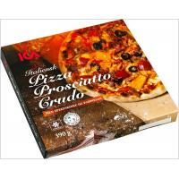 Quality Italian Eco Friendly Empty Large Pizza Boxes 12 Inch Glossy Varnishing Surface for sale