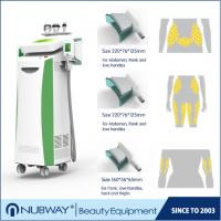 Buy cheap cryolipolysis cavitaion and RF 3 in1 / cryolipolysis fat reduction cool slimming machine from wholesalers