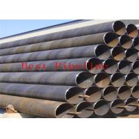 P355 P460 Black ERW Welding Pipe UOE Bared With Alloy Fine Grain Steel for sale