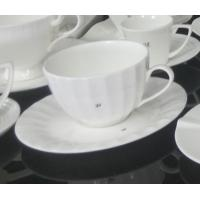 Wholesale International certification SGS/CE 9907 custom high quality more than 40%Ashes bone china coffee mug and plate from china suppliers