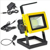 Wholesale Aluminum Alloy  Outdoor light 10W Rechargeable  5730SMD LED Flood Light White/red/blue from china suppliers
