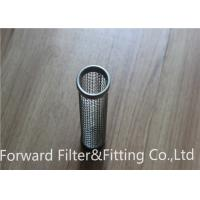 Wholesale Silk deep processing plant support custom stainless steel filter tube / burner filter cartridge / exhaust filter from china suppliers
