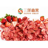 Wholesale Chinese Freeze dried Strawberry FD Strawberry whole slice dice and powder from china suppliers