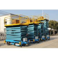 Wholesale SJY 0.3 300 kg Manual Aerial Work Platform Scissor Lift from china suppliers