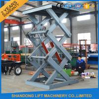 Wholesale Warehouse Stationary Hydraulic Scissor Lift for Material Loading / Handling from china suppliers