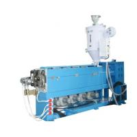 Quality Automatic Cable Extrusion Line With Auto Coiler For Building / Housing Wiring for sale