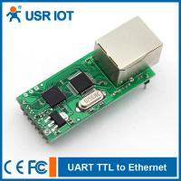 Wholesale [USR-TCP232-T] RS232 TTL to Ethernet Converter TCP/IP module, support TCP/UDP from china suppliers