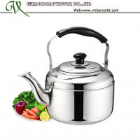 Wholesale High Quality Promotion Stainless steel whistling tea kettle tea pot 3L, 4L, 5L, 6L, 7.5L,10L from china suppliers