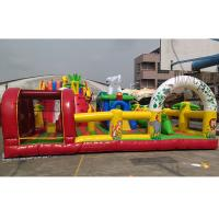 Wholesale Custom Design Commercial Inflatable Theme Park With 0.55mm PVC from china suppliers