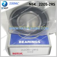 Wholesale NSK 2205-2RS 25X52X18 Mm Single Row Steel Cage Self-Aligning Ball Bearing from china suppliers