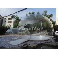 Wholesale Transparent PVC Inflatable Comping Bubble Tent For Customized Size from china suppliers