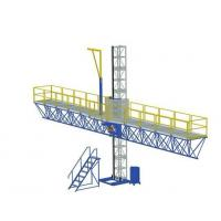 Wholesale 1000 kg Single Mast Climbing Work Platform for Working Height 100 m from china suppliers