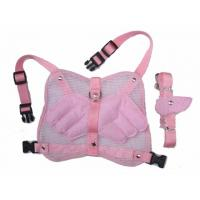 Wholesale Fashion angel wing dog harness with leash pink and blue 2 sizes 30pcs/lot from china suppliers