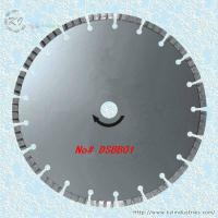 Wholesale Silver Brazed Diamond Turbo Saw Blade for Cutting Granite and Marble - DSBB01 from china suppliers