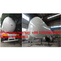 Wholesale Factory sale best price 56cbm propane gas transported trailer, HOT SALE! high quality and cheaper price lpg tank trailer from china suppliers