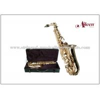 Quality High F# Brass lacquered Eb Key Student model Alto Saxophone (SP1001G) for sale