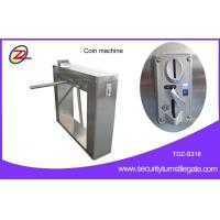 Wholesale Automatic 304 stainless steel pedestrian security gates With Swallow Coin Machine from china suppliers