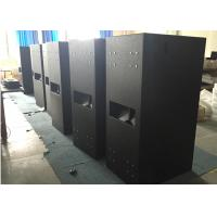 "Quality 4 Ohm 2400 Watts RMS Subwoofer Speakers Double 18"" Passive Stage Base Bins for sale"