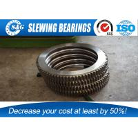Wholesale No Gear Excavator Slewing Ring Bearing With Large Load Bearing Capacity from china suppliers