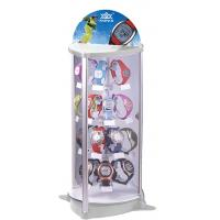 Wholesale 4 Layers Rotate Wrist Watch Display Stand With White Led Light from china suppliers