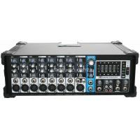 Wholesale 2 * 200W , 8 Channel Powered Mixer With Ipod Dock from china suppliers