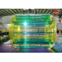 Quality PVC Tarpaulin Colour Crazy Inflatable Water Games Inflatable Water Walker Roller for sale