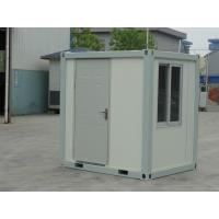 Wholesale Office Prefab 10ft Container Home For Guard Room / Lodge , Mobile Storage Unit from china suppliers