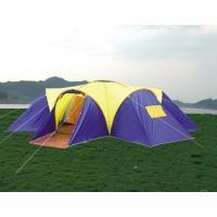 Wholesale Glass fibre + Oxford Cloth Inflatable Party Wild Camping Tent 4 * 6 * 1.36m from china suppliers