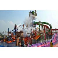 Wholesale Castle Style Childrens Fun Play Slides Aqua Tower Water Playground Equipment Outdoor from china suppliers