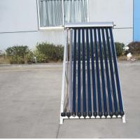 Wholesale U Pipe 12 Tubes Pressurized  Solar Collector For Flat Roof from china suppliers