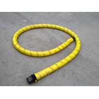 5.5 Steel Wire Braid 1-12m Length Concrete Rubber Hose With Colorful Galvanized Ends