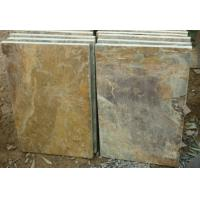 Buy cheap Rusty Slate Flooring Tile for Wall Decoration from wholesalers