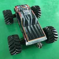 Buy cheap Metal Gear Off Road Electric RC Car / 4x4 Brushless RC Trucks For Children , High Stability from wholesalers