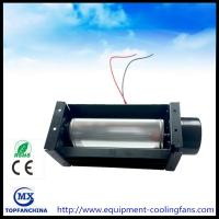 Buy cheap Oven appliance parts brushless 12 volt tangential fan, 134*60*60mm DC tangential blower fan from wholesalers