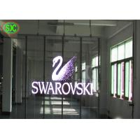 Wholesale 93% Transparent TL19.23 LED Video Advertising  Screen , Light weight transparent led display from china suppliers