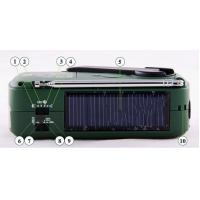 Wholesale low price Degen DE13 solar radio with torch from china suppliers